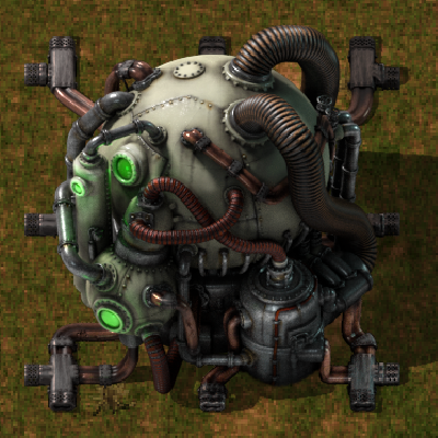Nuclear Reactor. From Official Factorio Wiki